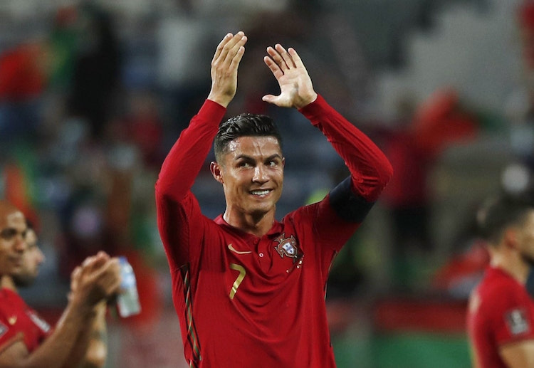 Cristiano Ronaldo holds the Guiness World Record for most number of goals scored in international football.