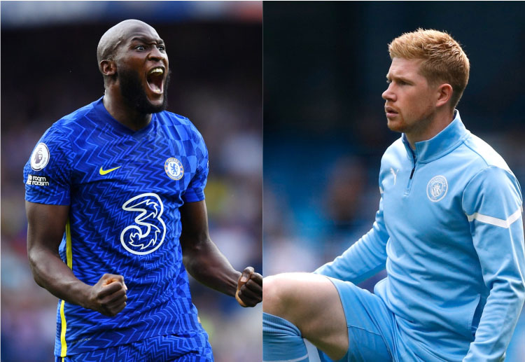 It will be interesting to see who comes out on top in this battle between Kevin De Bruyne and Romelu Lukaku