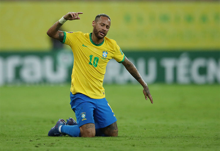 Brazil have won all of their eight World Cup qualifying matches so far