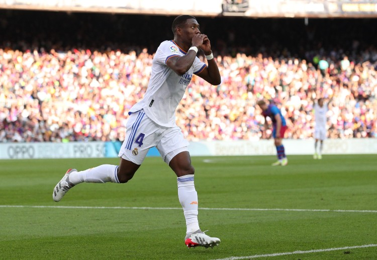 David Alaba became the fifth player to score on his El Clasico debut in this century